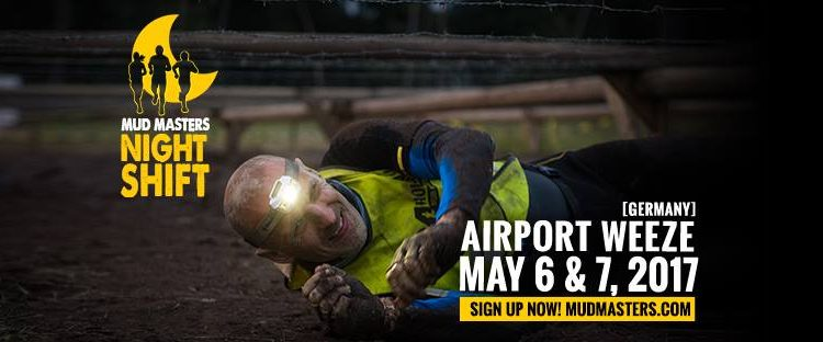 MUD MASTERS NIGHT SHIFT AIRPORT WEEZE 2017