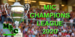 MIC CHAMPIONS LEAGUE 2020 BANNER
