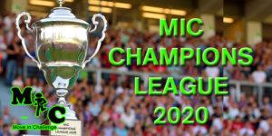 MIC CHAMPIONS LEAGUE 2020 BANNER