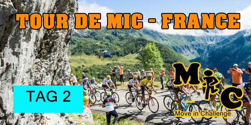 TAG 2 Tour de MIC FRANCE
