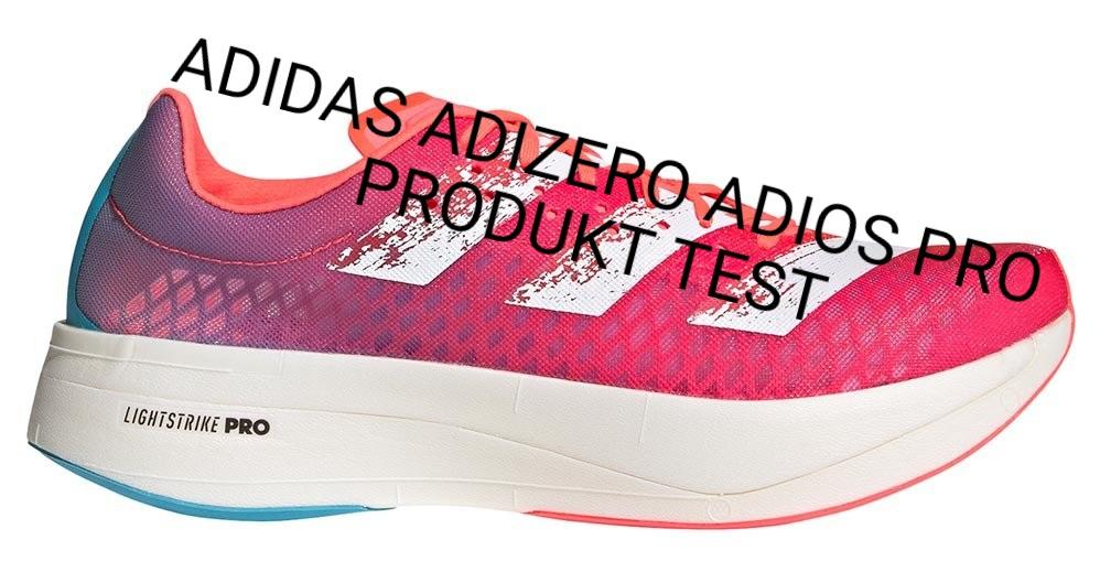 ADIDAS ADIZERO ADIOS PRO - PRODUKT TEST